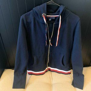 TOMMY HILFIGER ZIP UP WITH HOOD SIZE MEDIUM